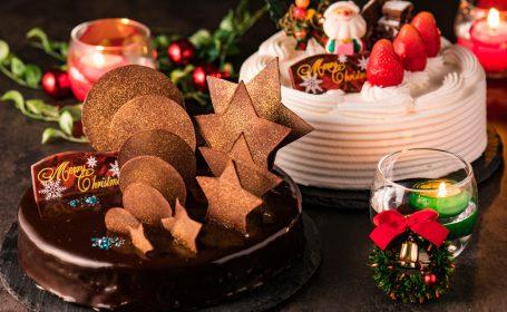 クリスマスケーキ両方
